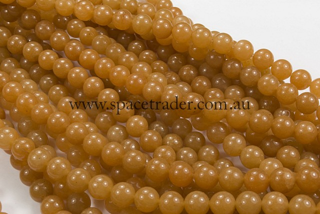 04mm Plain Round Red Aventurine Bead - 40cm strands