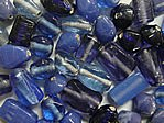 glass - colour mix - 2701P- blue family mix x 1kg