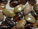glass - colour mix - 2701P- topaz family mix x 1kg