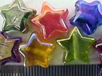 glass - mix - 1864KG - Rainbow stars - mix x 1KG NOT AVAILABLE