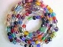 glass - mix - 42 inch strand - mixed glass x 10 strands