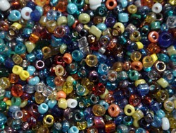 seed beads - 2742 - seed bead mix x 1kg