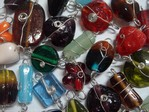 glass - mix - 4875L - large wire wrap mix x 1kg