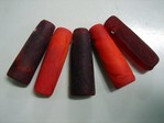 glass - mix - 4966 - nigerian pipes - red mix x 1kg