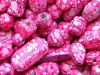 glass - mix - 2707KG  KG Marbled mix x 1 KG pink