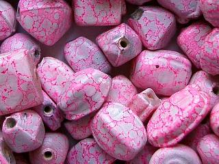 glass - mix - 2707KG  KG Marbled mix x 1 KG light pink
