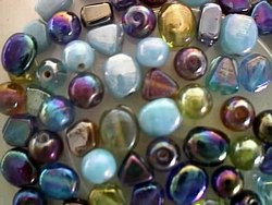 glass - mix - 4549MX - rainbow spacer mix x 1kg