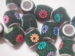 kashmiri beads - 15066 x 200 beads ( 5mm hole )