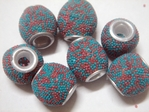 kashmiri beads - 15067 x 200 beads ( 5mm hole )