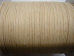 stringing - waxed cotton - 1.0mm x 500m - natural