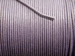stringing - waxed cotton - 1.0mm x 500m - purple