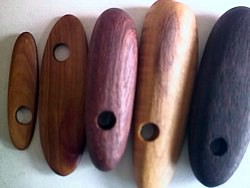 wood - Australian outback wood beads - long shapes x 1kg